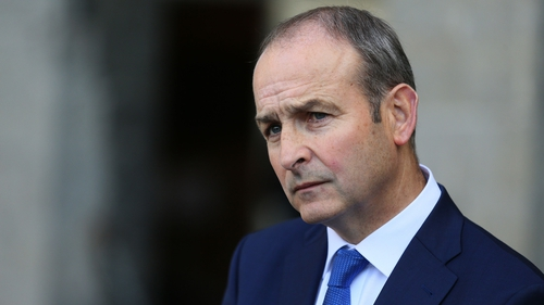 Micheál Martin said the Irish Government was helping to 'dramatise' the backstop debate
