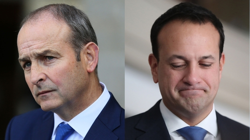 In a joint letter both Micheál Martin and Leo Varadkar said the next government will borrow at affordable rates