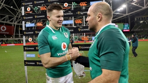 Rory Best noted that club and country teammate Jacob Stockdale has avoided second season syndrome