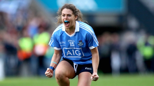 """Noelle Healy: """"We always just try to improve ourselves as players and Mick is brilliant for that."""""""