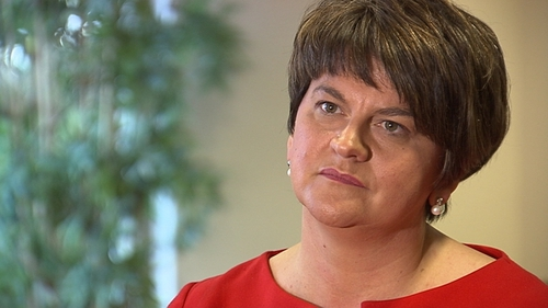 """Arlene Foster has reiterated her """"regret"""" at the Government's position"""