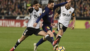 Lionel Messi was denied a legitimate goal for Barca