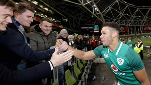 Adam Byrne had a solid debut for Ireland