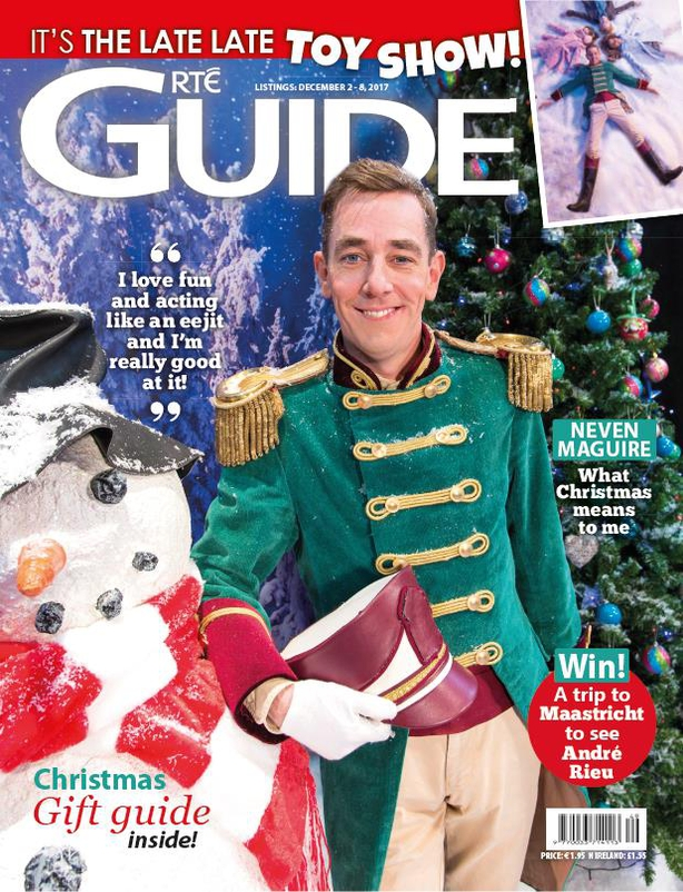 RTÉ Guide Tubridy Toy Show cover