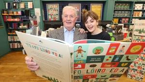 Father-daughter duo John and Fatti Burke, creators of Foclóiropedia
