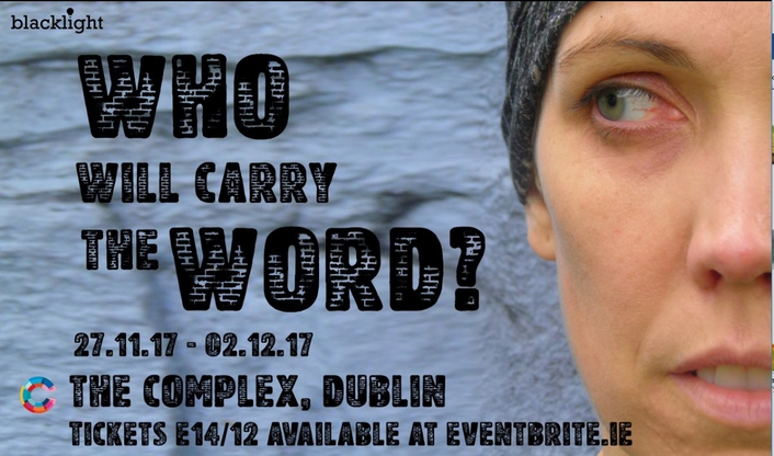 """""""Who Will Carry The Word?"""", a play"""