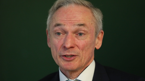 Minster for Education Richard Bruton said that 'what the motion is raising is the question of liability to compensation'