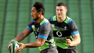 Robbie Henshaw and Bundee Aki started in the 38-3 win over South Africa earlier this month