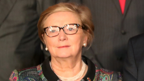 Frances Fitzgerald is at the centre of a controversy over McCabe emails