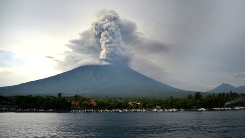 Indonesian authorities extend Bali airport closure over volcanic ash