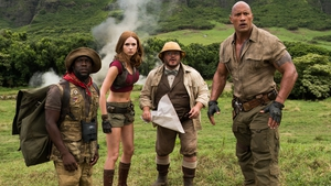 Jumanji: Welcome to the Jungle is an amusing body-swapping action comedy