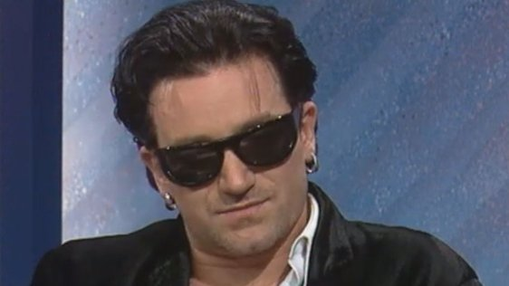 Bono talks Zoo TV on Kenny Live (1992)
