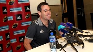 Munster's new head coach Johann Van Graan.