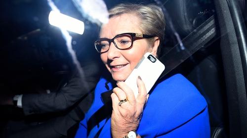 Frances Fitzgerald resigned as Tánaiste in November 2017
