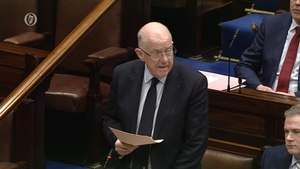 Minister Flanagan paid tribute to the frontline workers