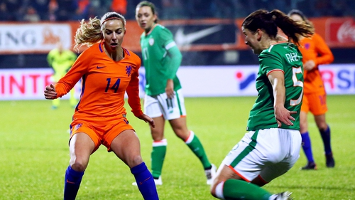 Ireland come away from their trip to Holland with a 0-0 draw.