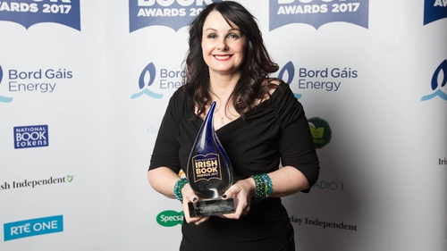 Marian Keyes: winner of the Popular Fiction award for The Break, pictured at this year's Bord Gáis Energy Book awards