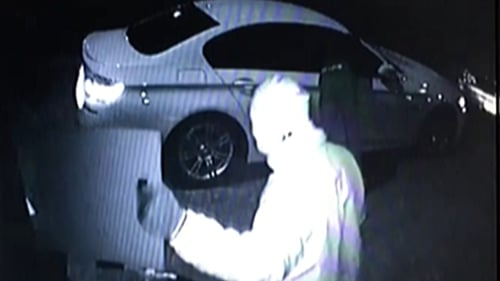 The thieves used a 'relay' device to pick up a signal from the car fob