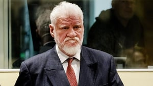 Slobodan Praljak 'drank poison' as the judge read out the verdict