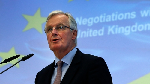 Michel Barnier said no deal would be a very bad deal