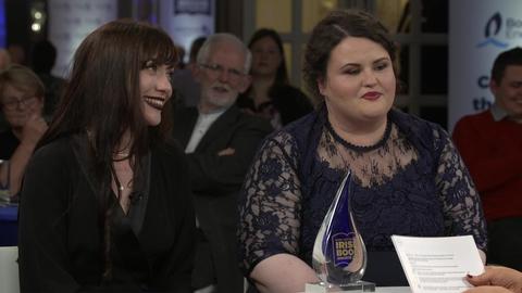 Deirdre Sullivan and Karen Vaughn   Bord Gáis Energy Irish Book Awards