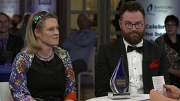 Sarah Webb and Steve McCarthy   Bord Gáis Energy Irish Book Awards