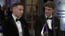 Philly McMahon and Niall Kelly   Bord Gáis Energy Irish Book Awards