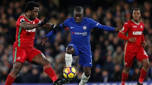 N'Golo Kante is happy to stay at the Bridge