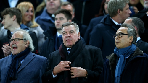 Allardyce was in charge for less than six months