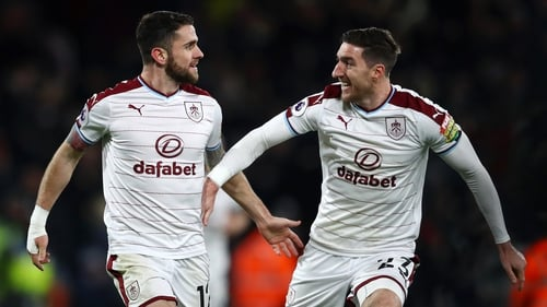Robbie Brady, left, could be set for a period of time on the sidelines