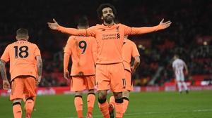 Premier League top scorer Mo Salah