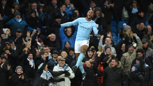 Raheem Sterling has been in great form for Manchester City this season
