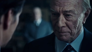 Christopher Plummer in the trailer for All the Money In the World