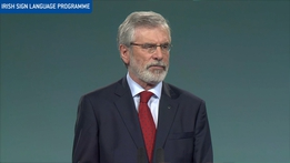 Sinn Féin Ard Fheis: The Leader's Speech