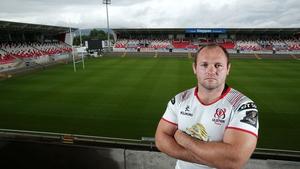 Schalk van der Merwe makes his first start for Ulster on Friday
