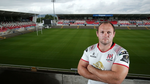 Schalk van der Merwe makes his first start for Ulster on Friday
