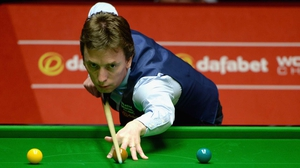 Ken Doherty is safely through to the second round in York