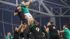 Ireland last hosted New Zealand in November 2016
