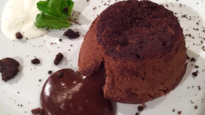 Mark Murphy's Chocolate Fondant & Coffee Crumble