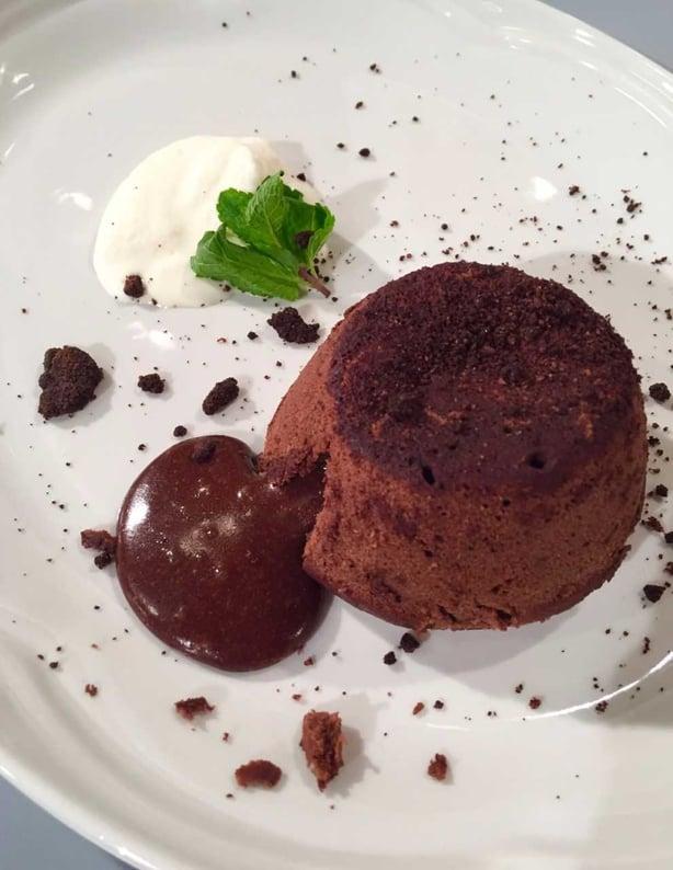 Mark Murphy's Chocolate Fondant & Coffee Crumble