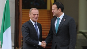 Leo Varadkar and Donald Tusk held a meeting in Dublin