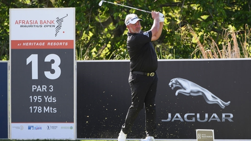 Darren Clarke had a good second day but it wasn't enough to beat the cut