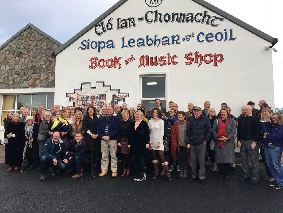 Nuacht an Iarthair: Siopa nua ag Cló Iar-Chonnacht