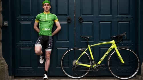 Eddie Dunbar has returned to cycling after a five-month layoff