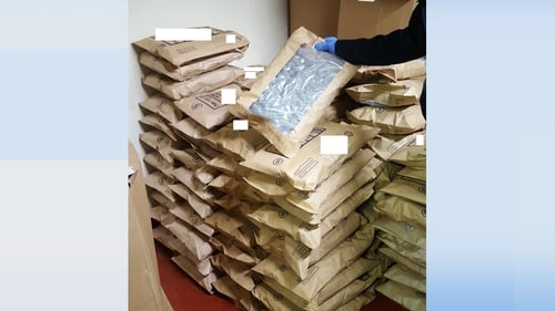 It is one of the largest drugs seizures in Dublin this year (Pic: Garda Press Office)