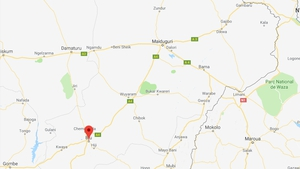 The attacks occurred in the town of Biu, about 185km south of the Borno State capital Maiduguri (Pic: Google Maps)