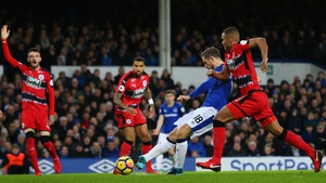 Gylfi Sigurdsson fired hom Everton's opener