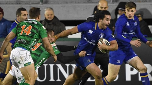 James Lowe was on the scoresheet on his debut against Treviso last weekend