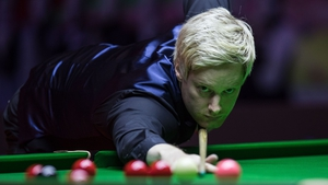 Neil Robertson eased into the third round