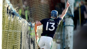 Liam Mellows' Tadgh Haran celebrates